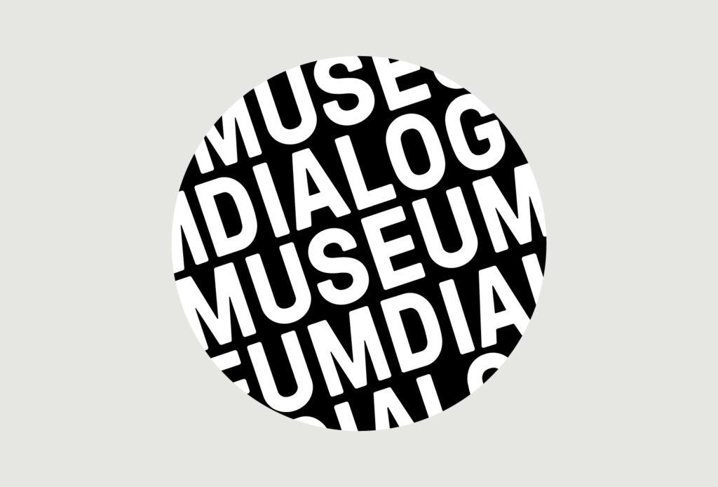 Logo Schriftzug Dialogmuseum als Ausschnitt